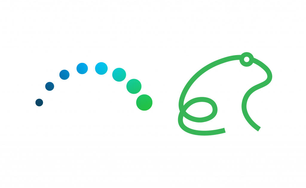 Catapult Greater Pittsburgh Logo with trail of circles showing jumping motion